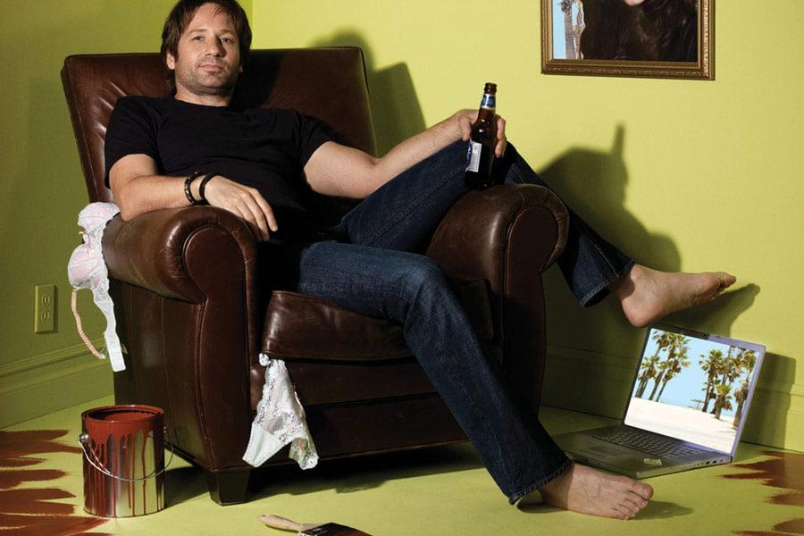 Zły David, niedobry David.  Bo piwo takie zimne, a Rosja taka ładna
