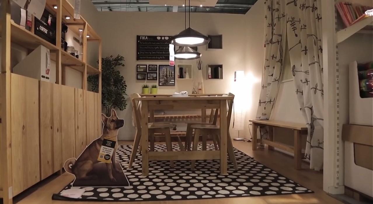 IKEA robi to dobrze. Nawet, jeśli się krzywisz, bo wilk pożera babcię