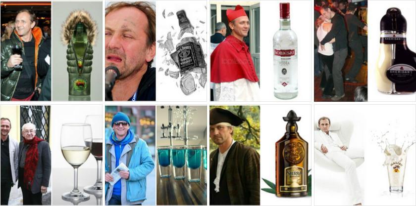 Alkohole które wyglądają jak Andrzej Chyra