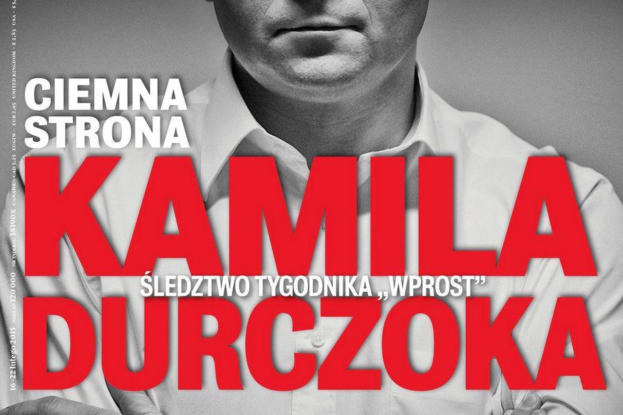 """Ciemna strona Kamila Durczoka, ciemniejsza strona """"Wprost"""""""