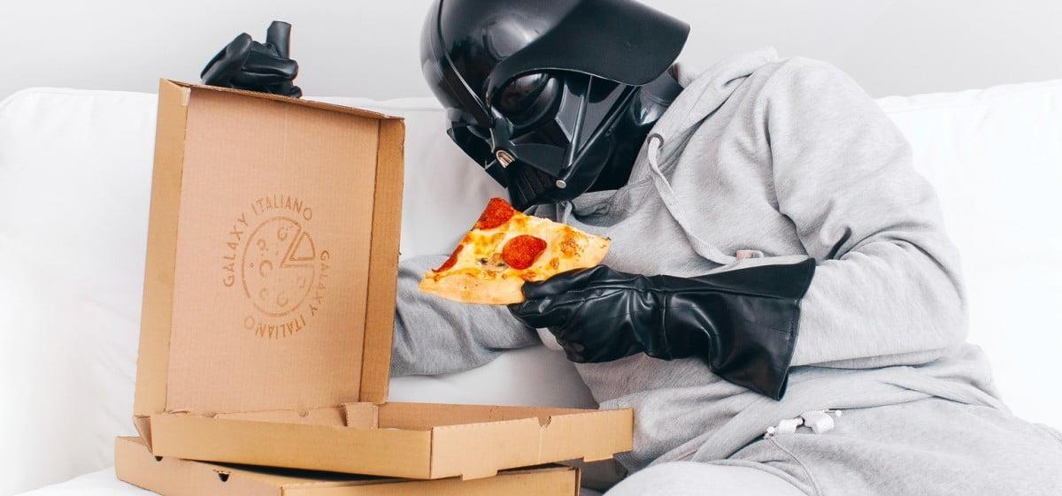 Darth Vader też kupowałby pizzę