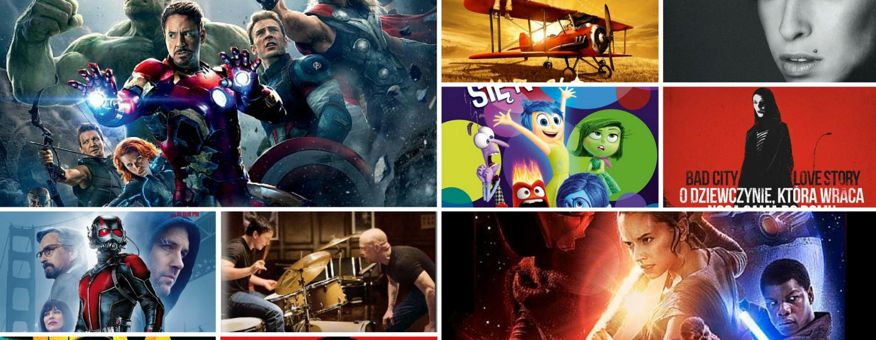 Najlepsze filmy 2015 roku! Zobacz, co koniecznie musisz nadrobić