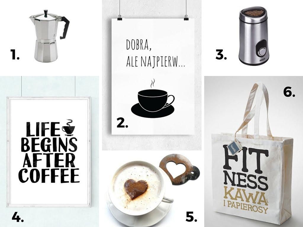 prezent dla miłośniczki kawy