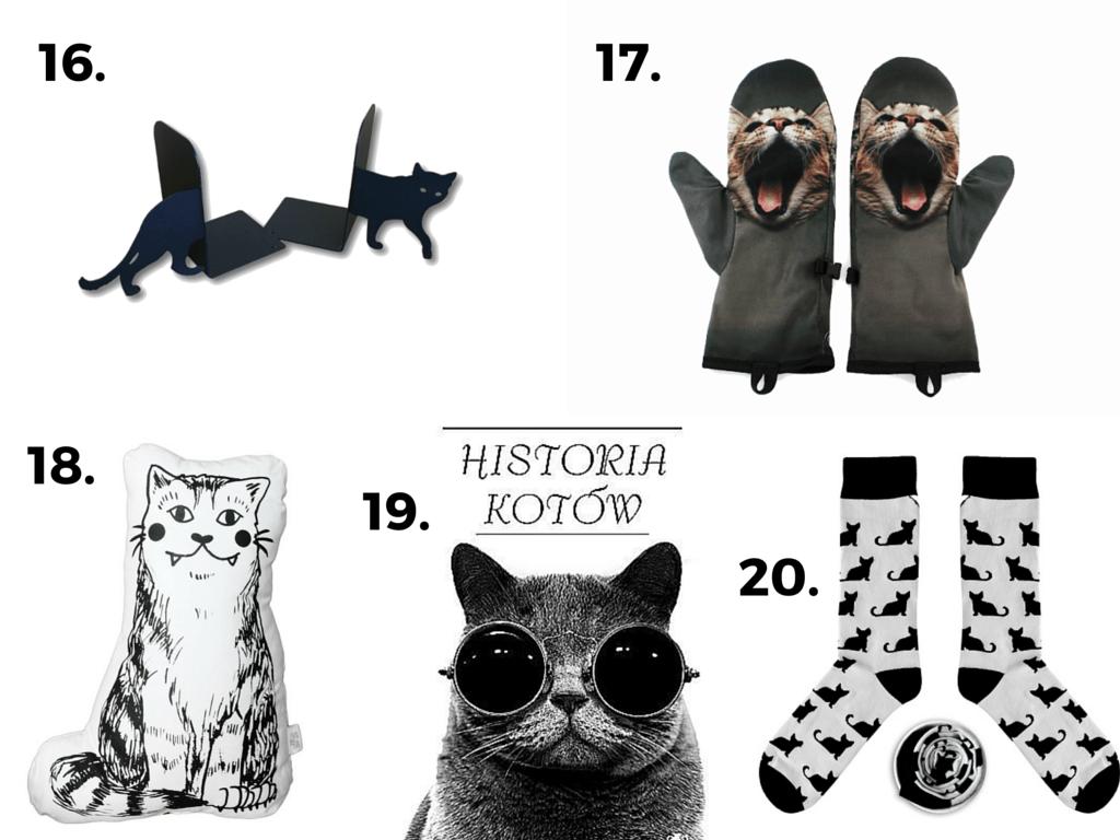 Prezenty dla miłośnika kotów