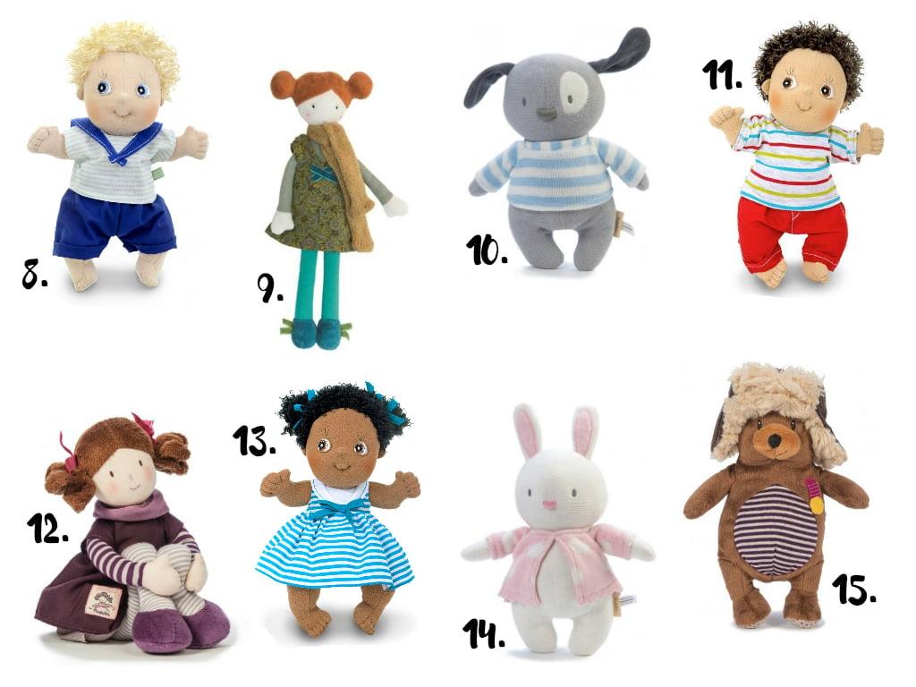 prezenty na mikołaja: lalki