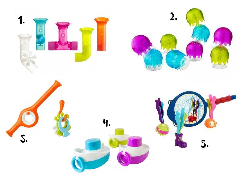 prezenty na Mikołaja: zabawki do kąpieli