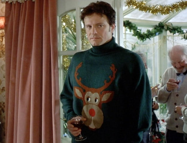 Mark Darcy sweter