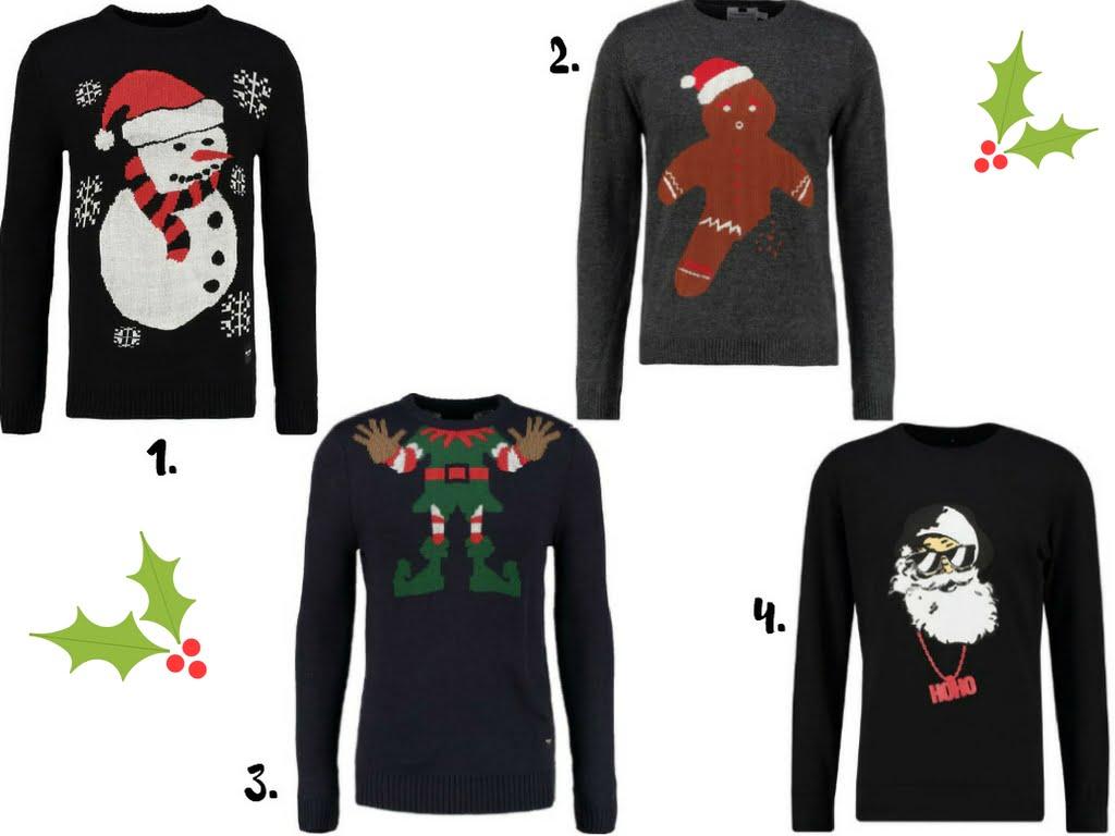 Swetry świąteczne męskie