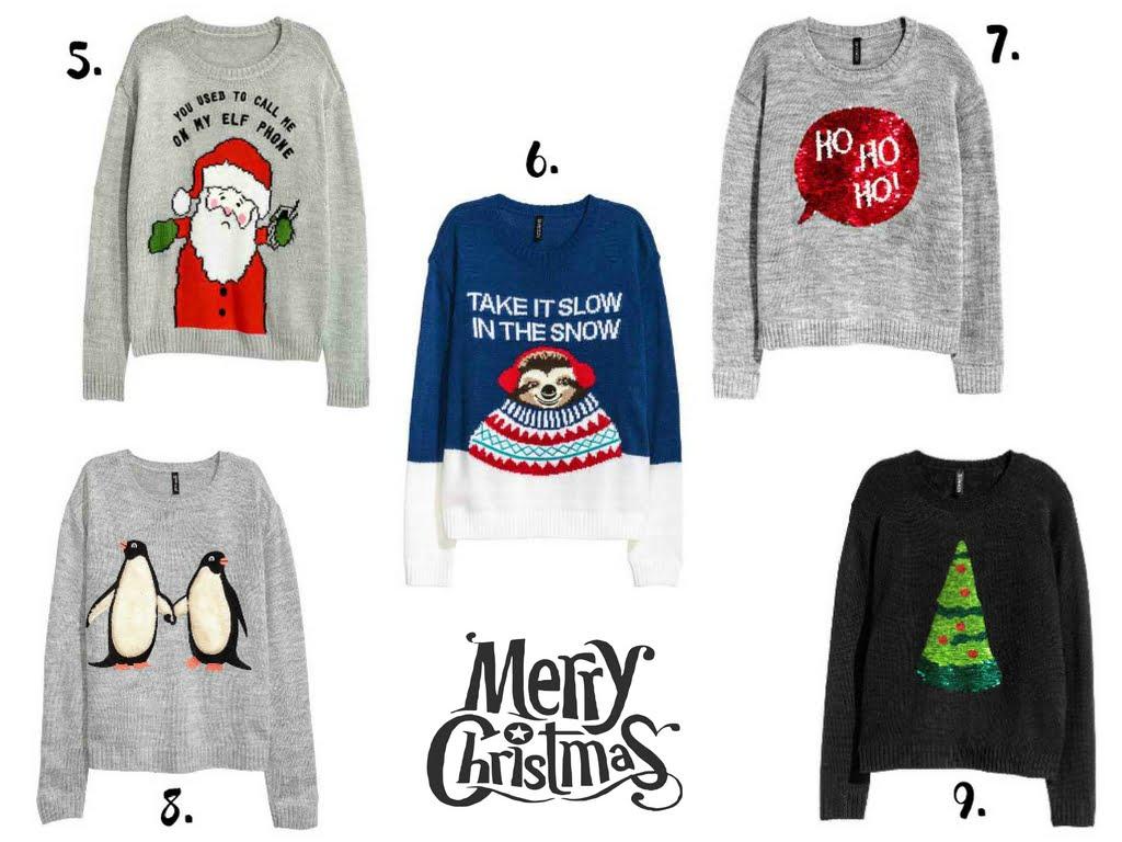 Swetry świąteczne damskie