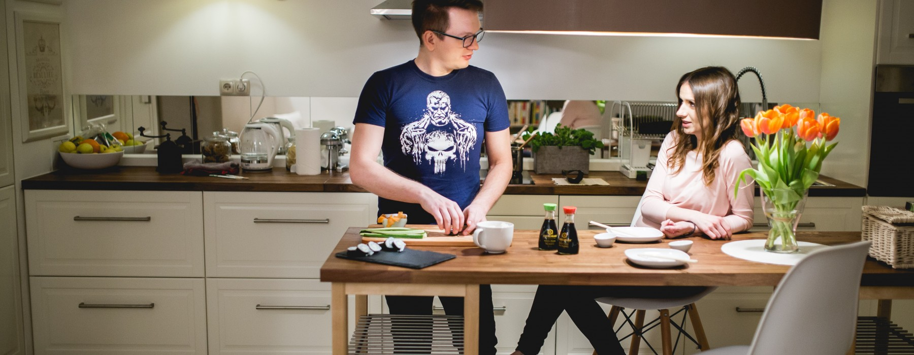 Miejsce kobiety jest w kuchni?