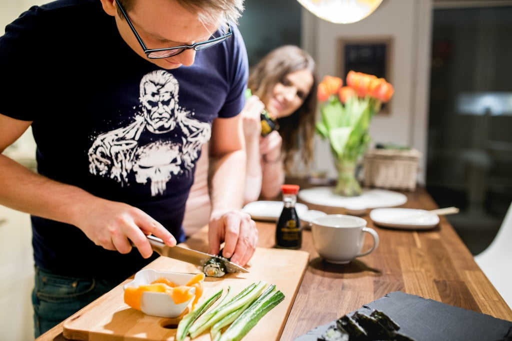 jak zrobić sushi na kolację