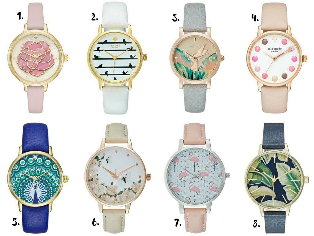 zegarki wiosna
