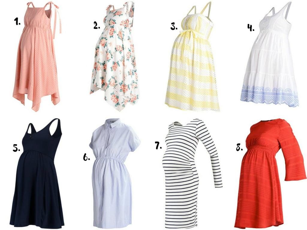 sukienki ciążowe zalando