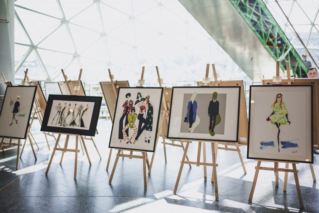złote tarasy wystawa o modzie