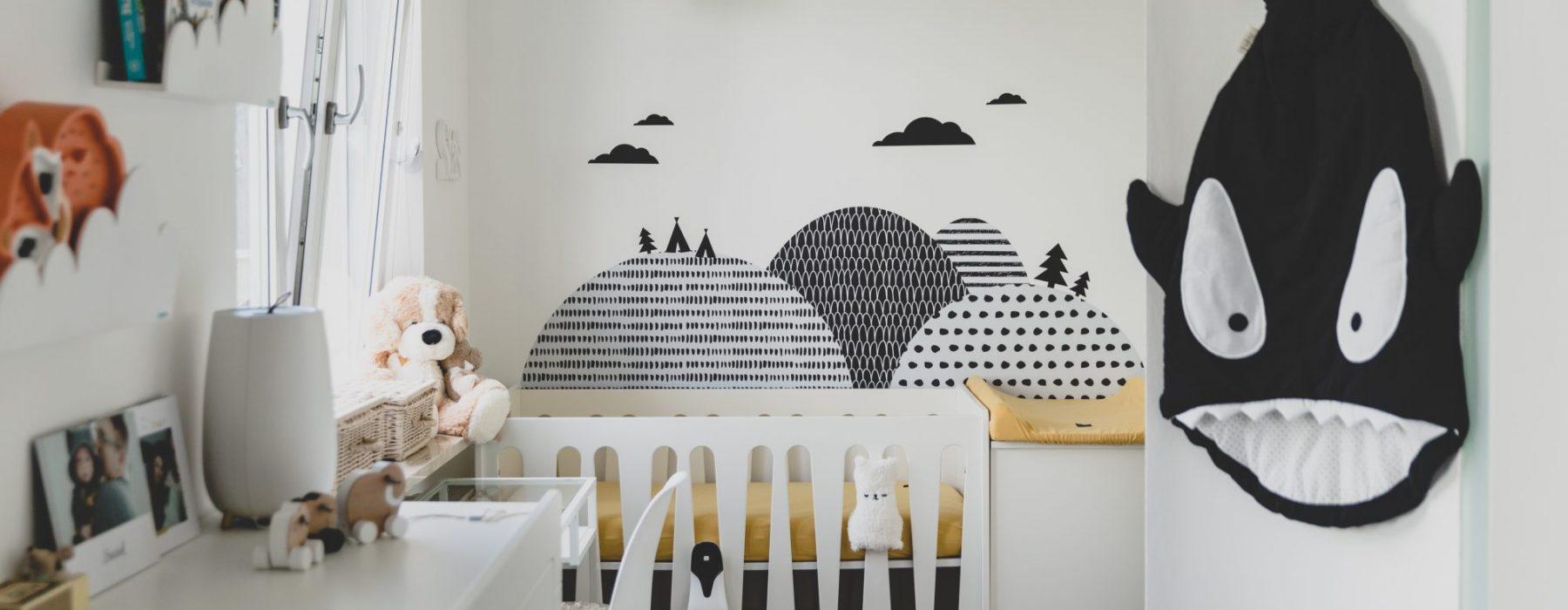 Metamorfoza pokoju dziecięcego, czyli Staś i jego kącik