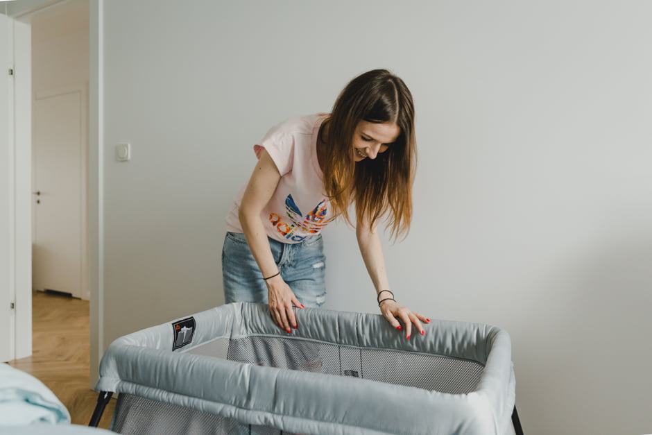 łóżeczko babybjorn