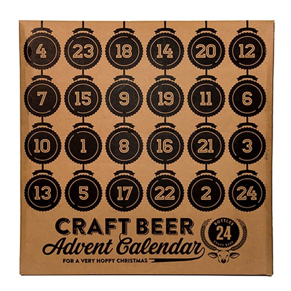 kalendarz adwentowy z piwem