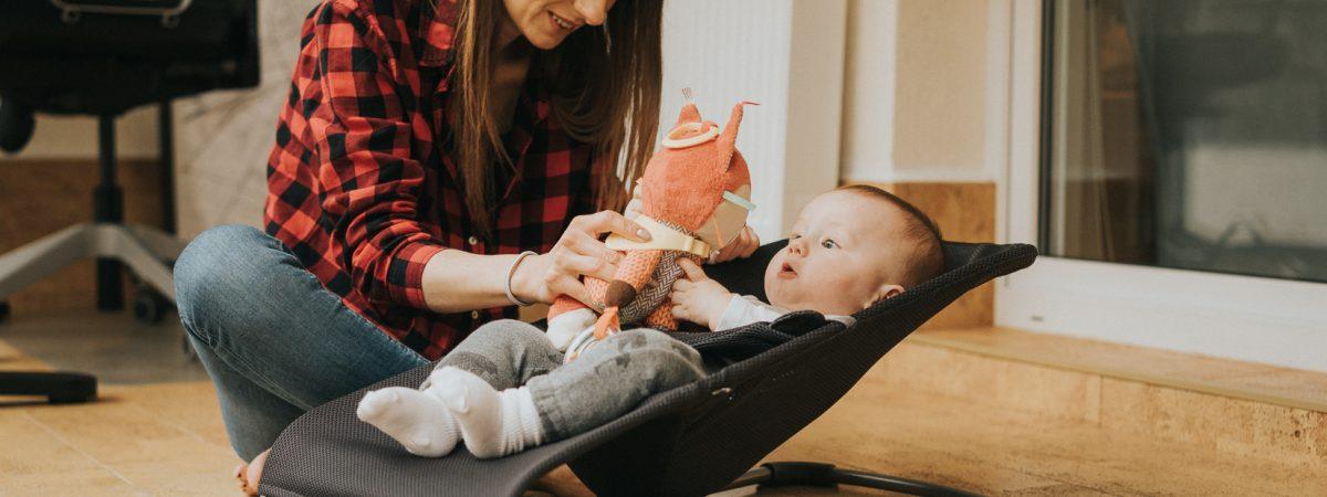 Leżaczek BabyBjörn. Bo każda matka potrzebuje czasem chwili dla siebie