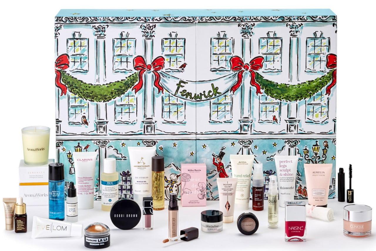 Kalendarze adwentowe z kosmetykami