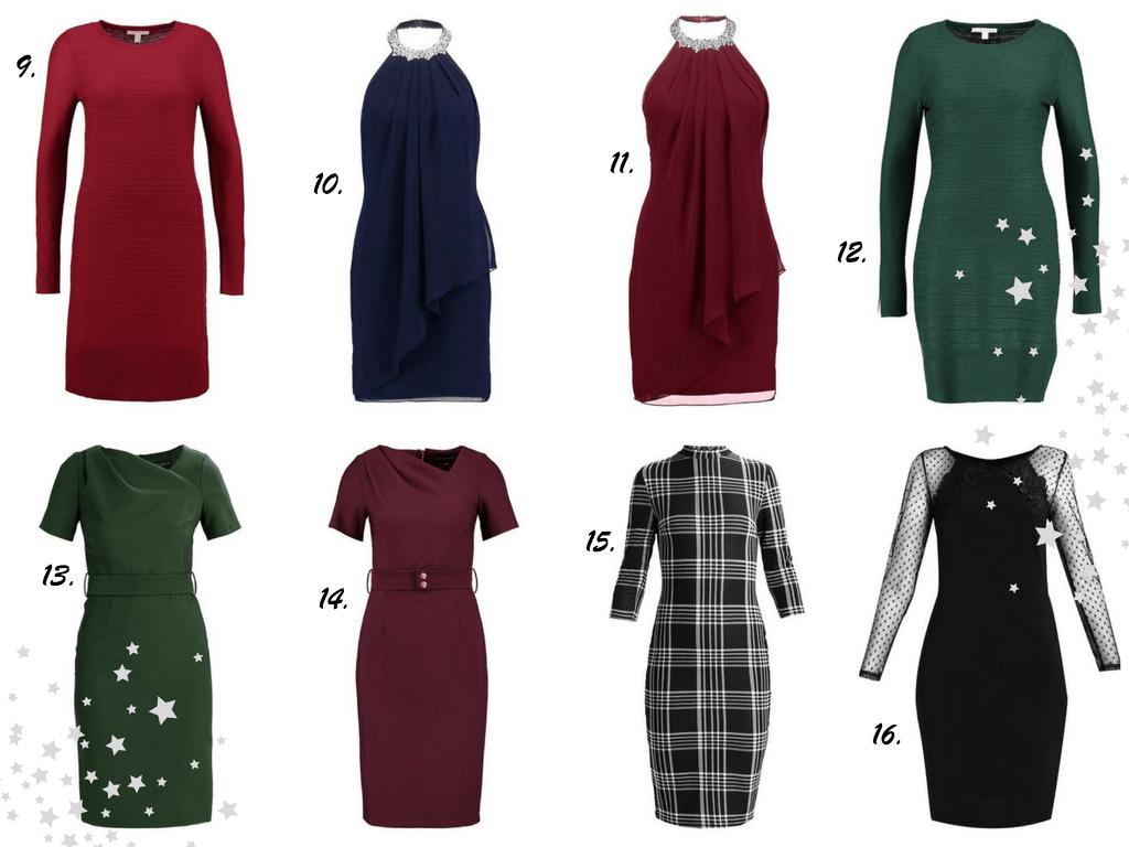 sukienki na wigilię