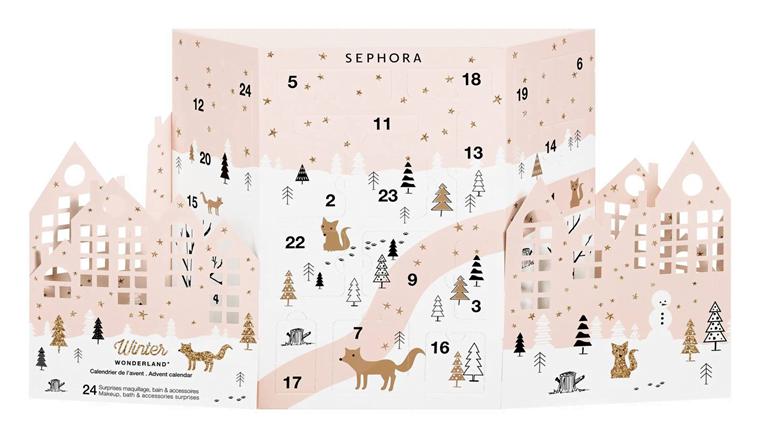 kalendarz adwentowy sephora