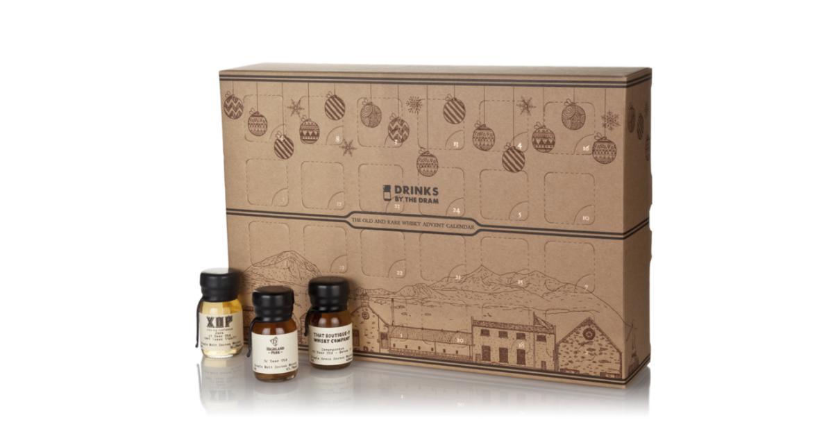 kalendarz adwentowy z whisky