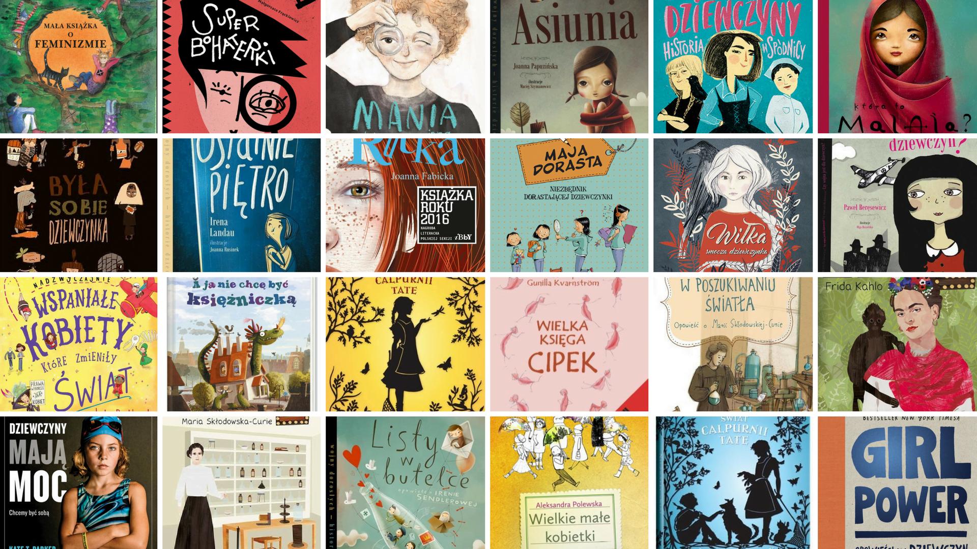 65bbfbed7913b2 Najlepsze książki dla dziewczynek. 30 niezwykłych tytułów