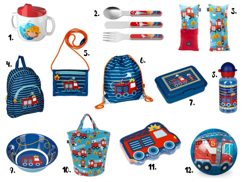 Dodatkowe Straż pożarna: Zabawki, klocki i gadżety dla małego strażaka! SJ25