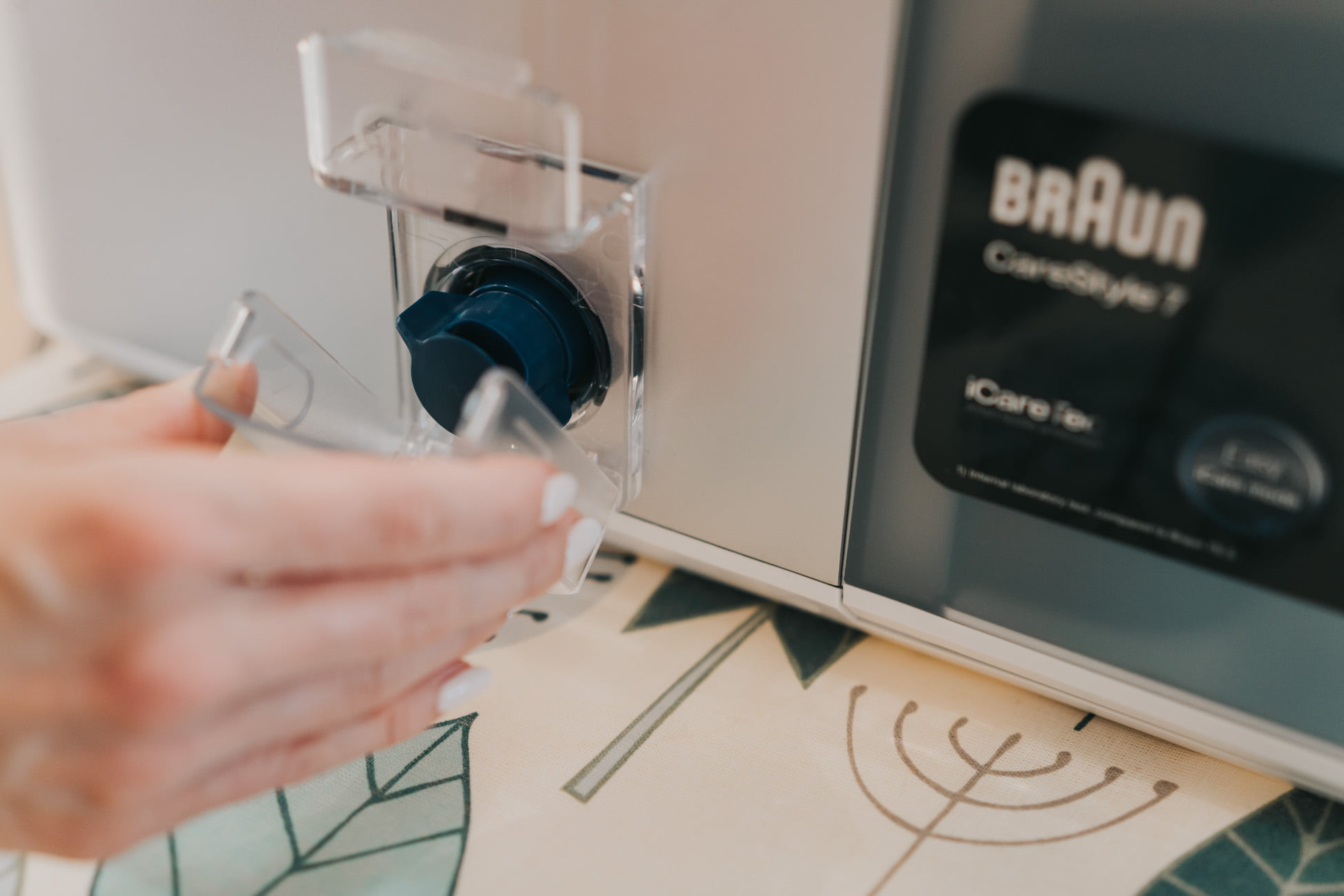 generator pary Braun