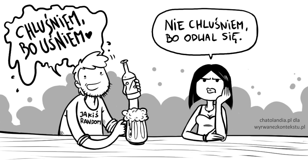 namawianie do picia