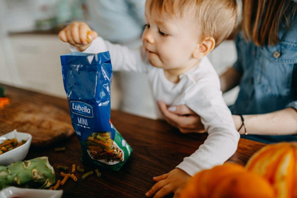 przepis na makaron dla dziecka