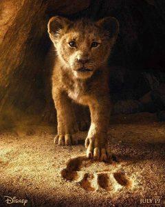 król lew plakat