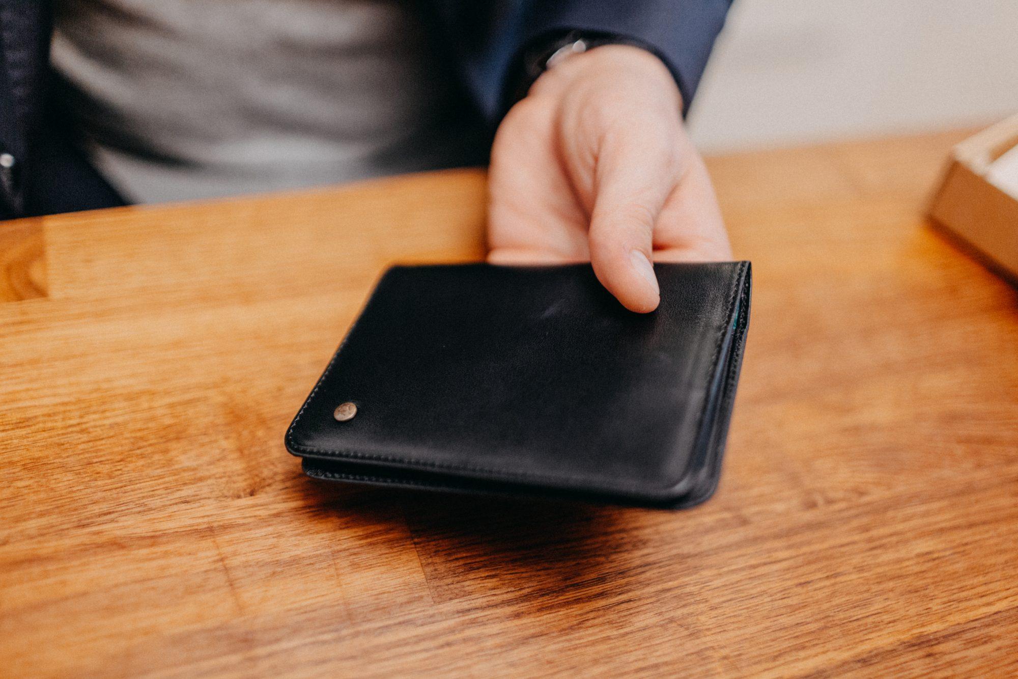 skórzany portfel dailly wallet