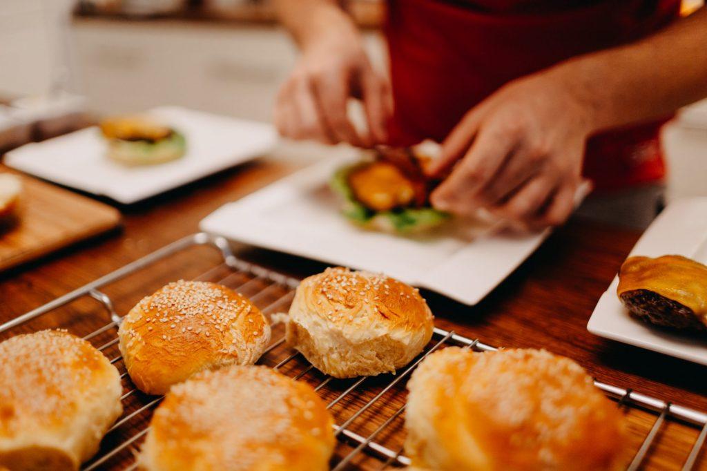 domowe hamburgery: przepis