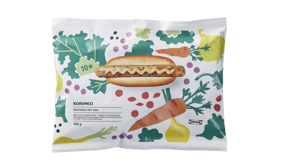 wege hot dog IKEA