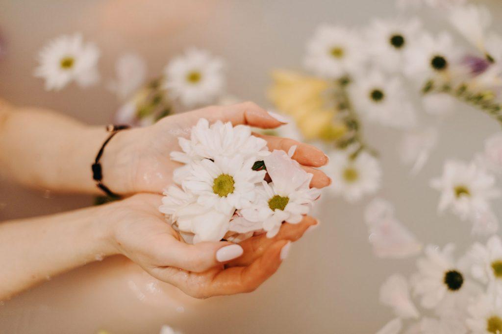 kwiaty do wanny