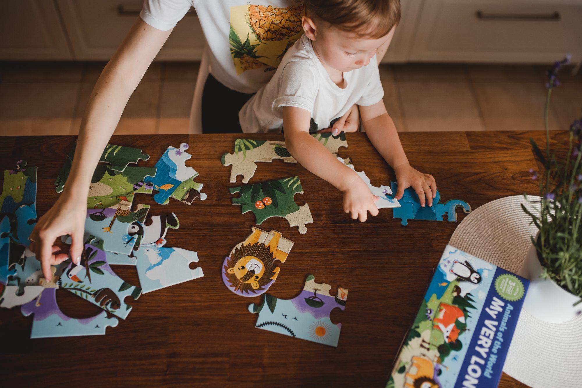 puzzle podłogowe