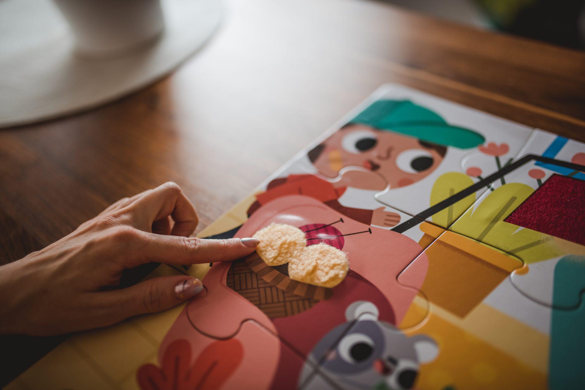 puzzle sensoryczne