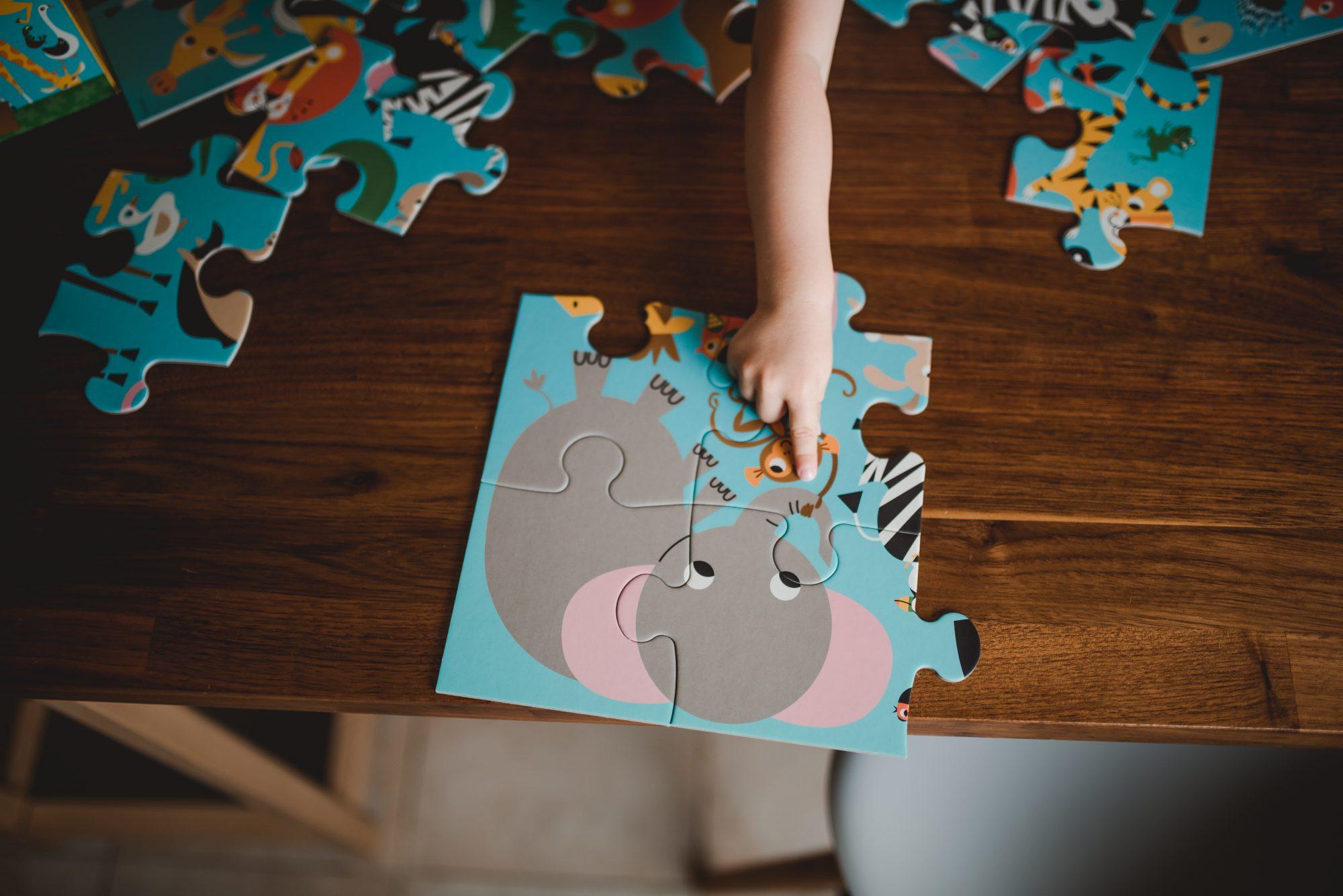 puzzle dla dzieci mudpuppy