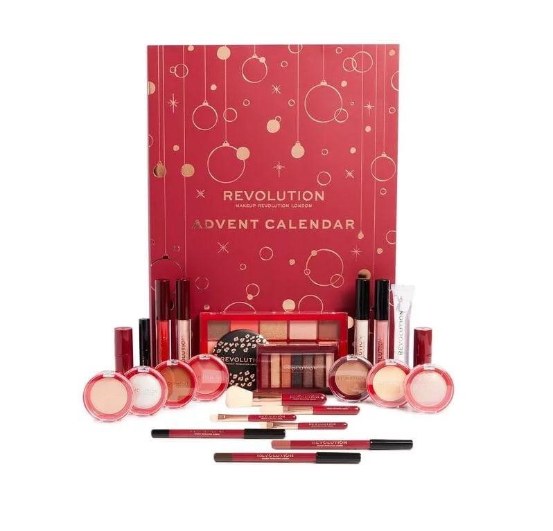 kalendarz adwentowy z kosmetykami