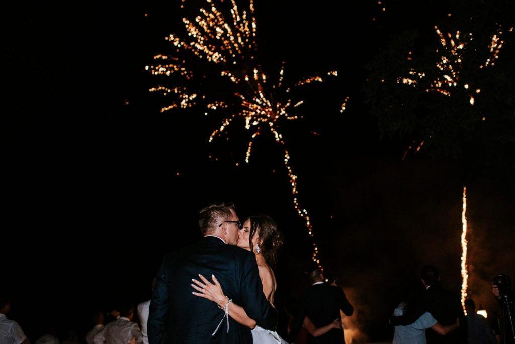 fajerwerki wesele