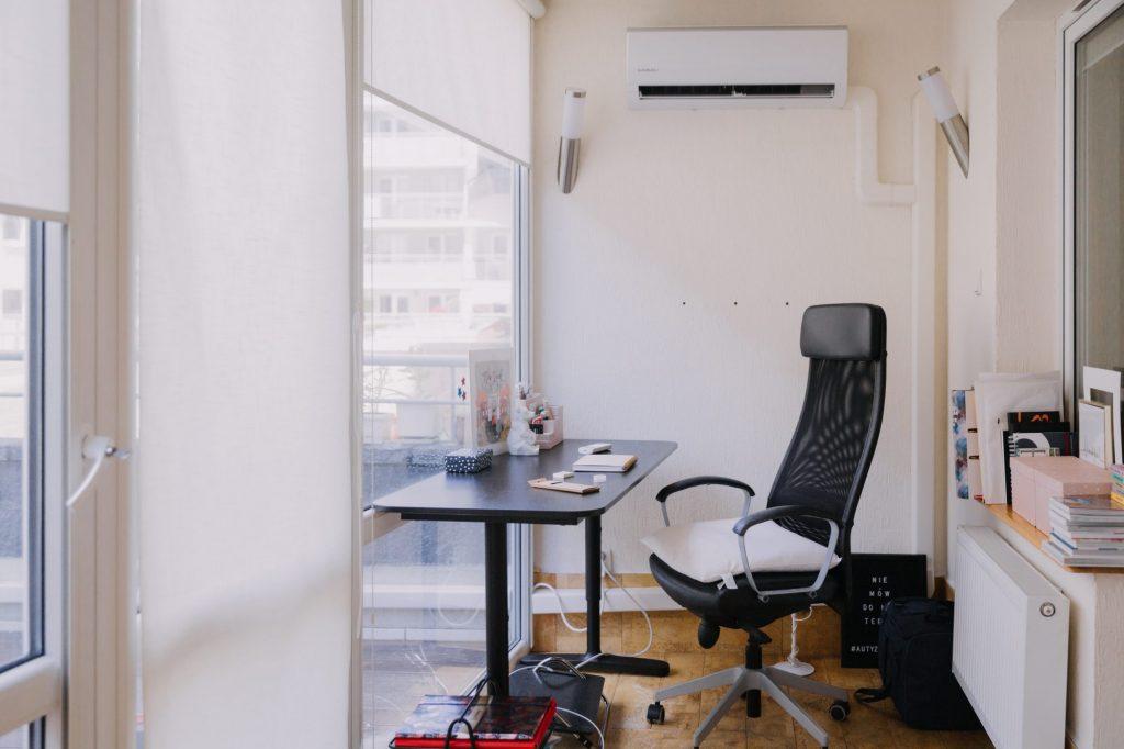 domowe biuro metamorfoza