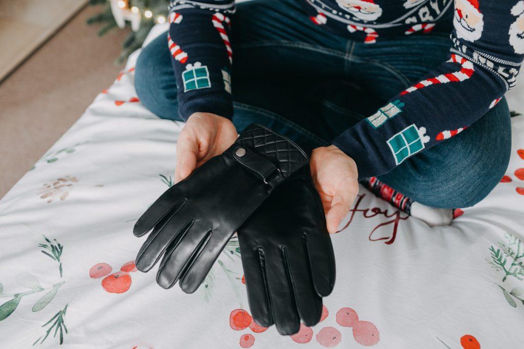 prezent dla męża rękawiczki