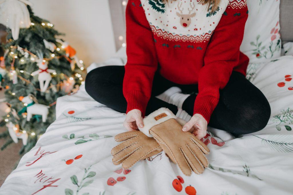 rękawiczki ugg